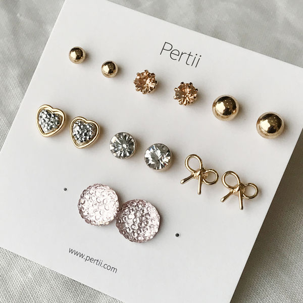 Doris earrings set