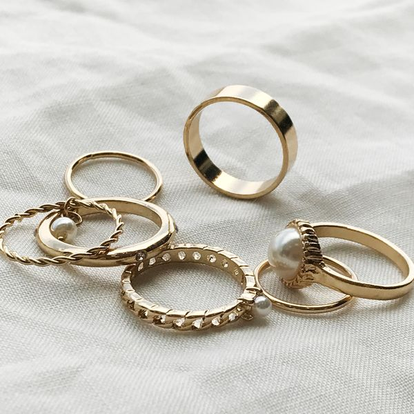 Trudy ring set (7p)
